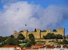 Sao Jorge Castle in Lisbon Royalty Free Stock Image