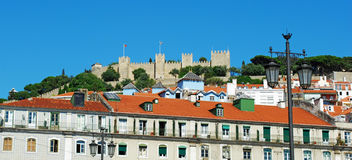 Sao Jorge Castle Royalty Free Stock Photo