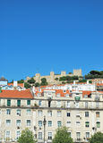 Sao Jorge Castle in Lisbon, Portugal Stock Image