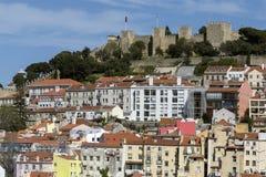 Sao Jorge Castle - Lisbon - Portugal royalty free stock images