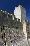 Sao Jorge Castle in Lisbon Royalty Free Stock Image