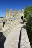 Sao Jorge Castle in Lisbon Stock Photography