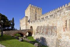 Sao Jorge Castle Lisbon St. George Royalty Free Stock Image