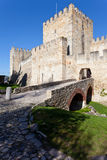 Sao Jorge Castle Lisbon St. George Royalty Free Stock Photos