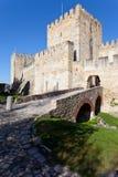 Sao Jorge Castle Lisbon St. George Royalty Free Stock Photos