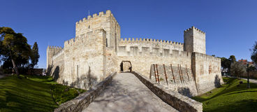 Sao Jorge Castle Lisbon St. George Royalty Free Stock Images