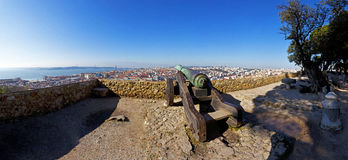 Sao Jorge Castle Lisbon St. George Royalty Free Stock Photography