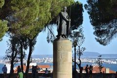 Sao Jorge Castle à Lisbonne Image stock