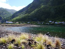 Sao_Jorge_island_Azores Imagenes de archivo