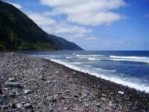 Sao_Jorge_island_Azores Arkivfoton