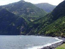 Sao_Jorge_island_Azores Fotos de archivo libres de regalías