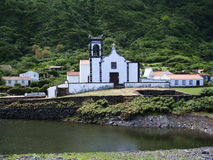 Sao_Jorge_island_Faja_do_Sto_Cristo Obraz Royalty Free