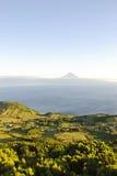 Sao Jorge mit Pico, Azoren Lizenzfreies Stockfoto