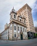 Sao Jose Church - Rio de janeiro, Brasil imagem de stock