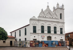 Sao Jose do Desterro Church Σάο Luis Maranhao στοκ εικόνες