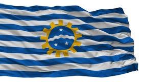 Sao Jose Dos Campos City Flag, el Brasil, aislado en el fondo blanco stock de ilustración