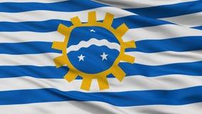 Sao Jose Dos Campos City Flag, el Brasil, opinión del primer stock de ilustración