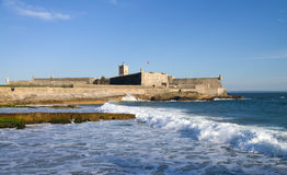 Sao Juliao da Barra fort Royalty Free Stock Images