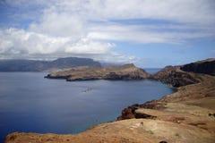 Sao Lourenco della penisola alla Madera Fotografia Stock