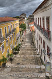 Sao Luis, Brazil. A series of old Colonial Buildings in Sao Luis, Brazil royalty free stock images