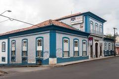 Sao Luis gör Maranhao historiska byggnader Arkivbild