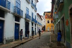 Sao Luis Maranhao, Brazilië stock afbeelding