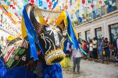 Sao Luis, Maranhao tillstånd, Brasilien för historisk stad Royaltyfria Bilder