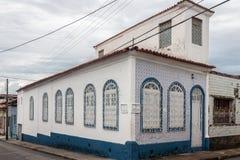 Sao Luis robi Maranhao Dziejowemu budynkowi Fotografia Royalty Free