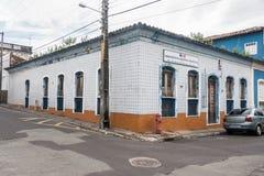 Sao Luis robi Maranhao Dziejowemu budynkowi Zdjęcia Stock
