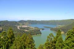 Sao Miguel, Azoren, Portugal stockfotografie