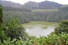 Sao Miguel, Azores, Portugal. Lagoa de Sete Cidades, Azores, Portugal stock photography