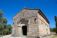 Sao Miguel Chapel royaltyfri foto