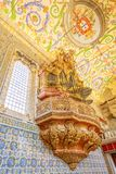 Sao Miguel Chapel de Coimbra photographie stock libre de droits