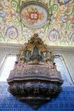 Sao Miguel Chapel nell'università di Coimbra, Portogallo Fotografia Stock