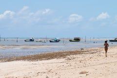 Sao Miguel dos Milagres - Alagoas, Brazil. Running in Sao Miguel dos Milagres - Alagoas, Brazil Stock Images