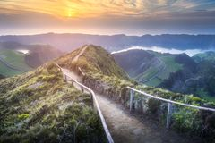 Sao Miguel Island, Azores Stock Images