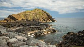 Sao Miguel island coast, the Azores in the Atlantic ocean. Stock Image