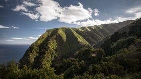 Sao Miguel Portugal des Açores de paysage Photographie stock libre de droits