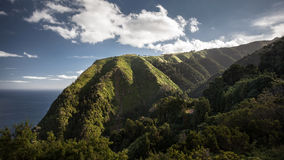 Sao Miguel Portugal van de landschapsazoren Royalty-vrije Stock Fotografie
