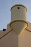Sao Miguel the Portuguese fortress of Luanda, Angola. Detail photo of one of its watchtowers Stock Photos