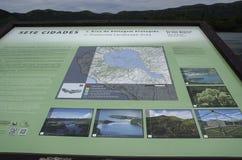 SAO MIGUEL, SETE CIDADES, AZORES, PORTUGAL, EUROPE, SPRING. Canal Das 7 Cidades Azores. Seven cities lake in Sao Miguel
