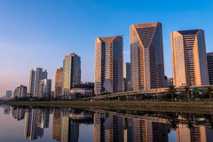 Sao moderno Paulo Buildings Fotografia de Stock
