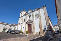 Sao Nicolau Church. Mannerist and Baroque. Santarem, Portugal. September 11, 2015:  Sao Nicolau Church a Mannerist and Baroque church Stock Photo
