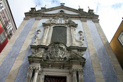 Sao Nicolau church Porto Stock Photography