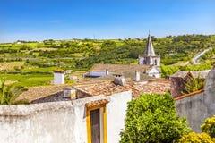 Sao Paolo Church Countryside Obidos Portugal Stock Photography