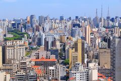 Sao Paulo Image libre de droits