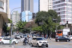 Sao Paulo Foto de archivo libre de regalías