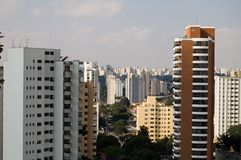 Sao Paulo. General view royalty free stock images