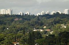 Sao Paulo. Vista geral da cidade royalty free stock photography