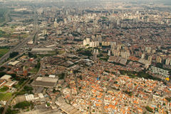 Sao Paulo aerial view - Brasil stock photos
